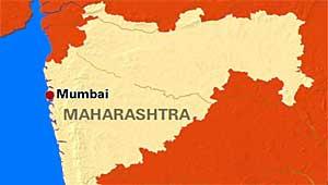 महाराष्ट्र का नक्शा