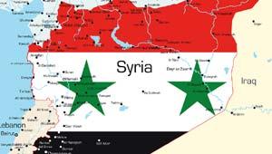सीरिया का नक्शा