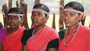 बैगा आदिवासी महिला