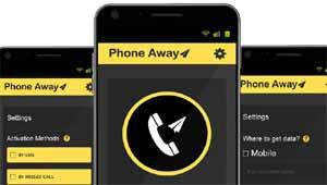 फोनअवे नया एप्लीकेशन