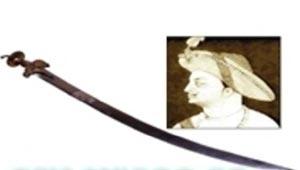 टीपु सुल्तान की तलवार