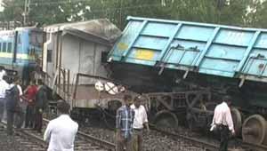 कोरबा में रेल दुर्घटना