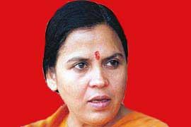 उमा भारती- केन्द्रीय मंत्री