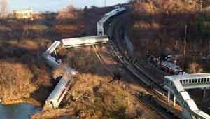 न्यूयॉर्क मेट्रो रेल हादसा