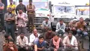 ट्रक मालिक हड़ताल