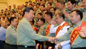 शी जिनपिंग-चीनी सेना