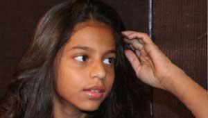 सुहाना खान- शाहरुख खान की बेटी.
