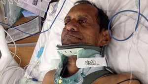 पीड़ित भारतीय बुजुर्ग-सुरेशभाई पटेल