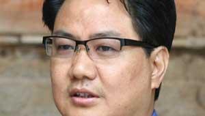किरण रिजिजू- गृह राज्य मंत्री
