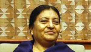 विद्या देवी भंडारी-राष्ट्रपति