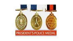 राष्ट्रपति का पुलिस पदक