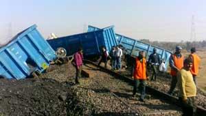 मालगाड़ी दुर्घटना
