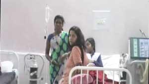 hostel girl fallen sick