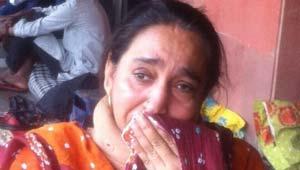 लापता छात्र की मां
