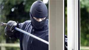 बैंक में चोरी