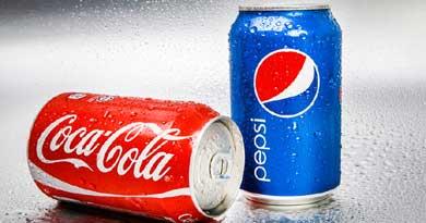 कोका कोला और पेप्सी