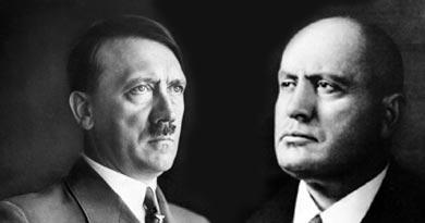 बस्तर में हिटलर, मुसोलिनी