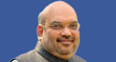 गांधी पर अमित शाह