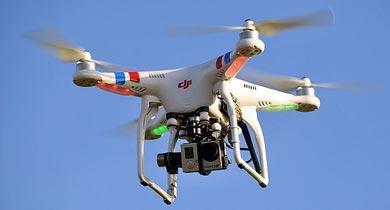 वन विभाग में ड्रोन