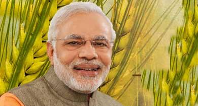 प्रधानमंत्री मोदी औऱ फसल बीमा