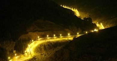 भारत-पाक सीमा की फर्जी तस्वीर