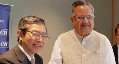 रमन सिंह जापानी निवेशक
