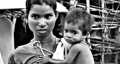 आदिवासी बच्चों की मौत