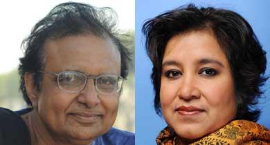 तस्लीमा नसरीन और सुनील कुमार