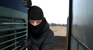 शालीमार ट्रेन में चोरी